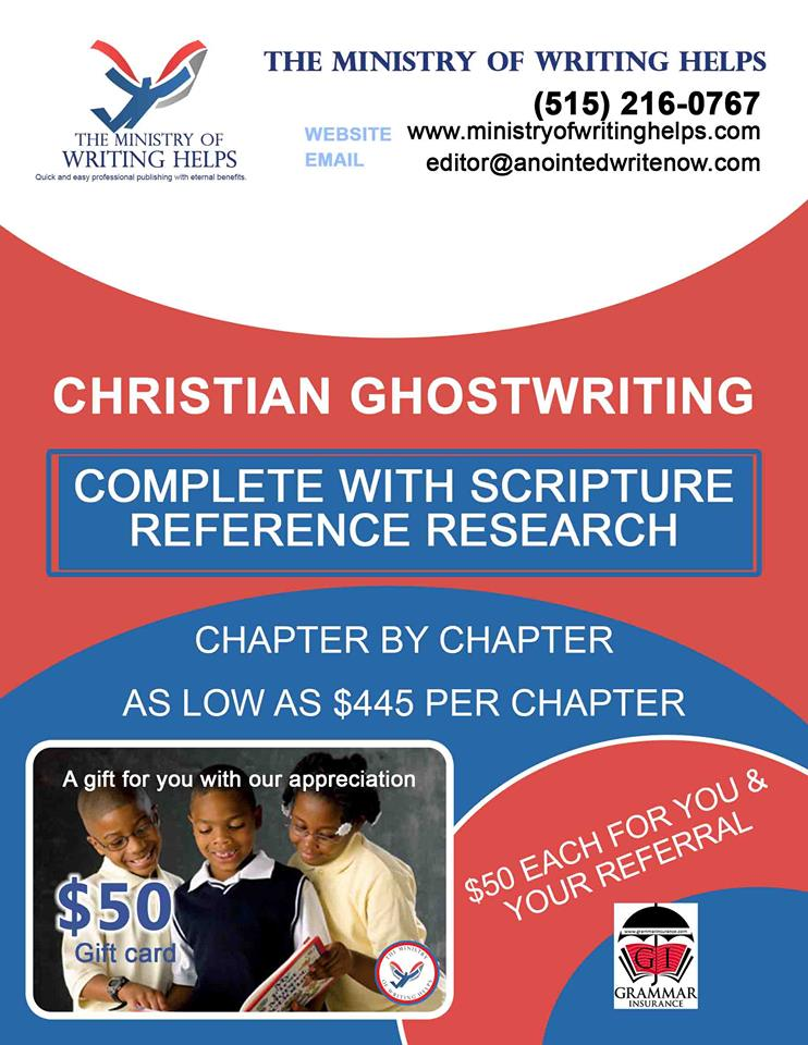 Affordable Ghostwriting Available